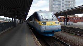 Pohled z vlaku Pendolino, Košice - Žilina