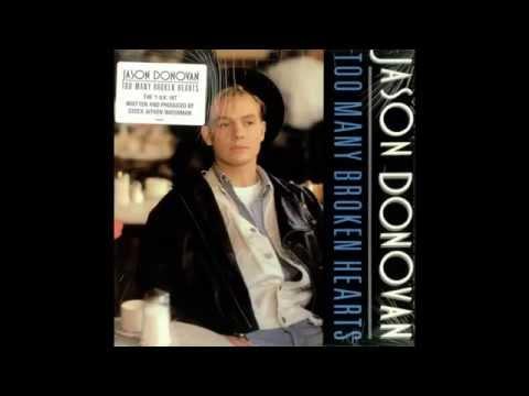 Jason Donovan  - Too Many Broken Hearts (Urban Mix) P.W.L. / 1989