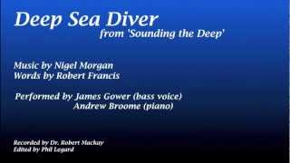 Deep Sea Diver (for bass voice and piano)