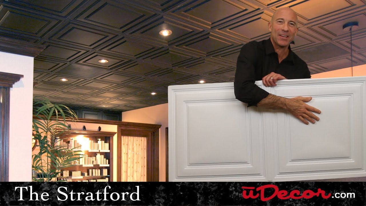 Stratford 2x4 ceiling tiles youtube stratford 2x4 ceiling tiles dailygadgetfo Choice Image