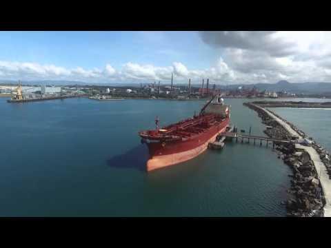 Port Kembla Aerial Tour