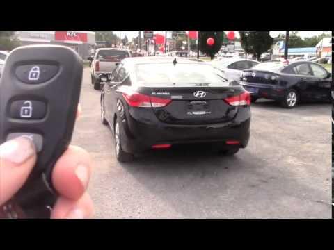 USED 2013 Hyundai Elantra GLS BLACK KINGSTON ONTARIO