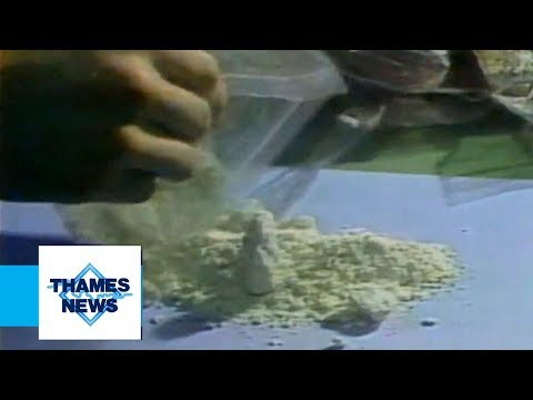 Drugs in the 80's (Crack Cocaine) | Thames News Archive Footage