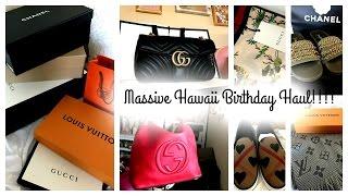 Massive Hawaii Birthday Haul!!!