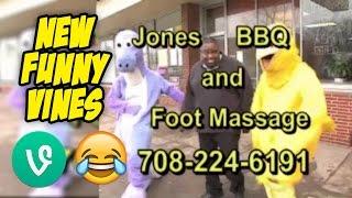 funny jones bbq and foot massage vine compilation