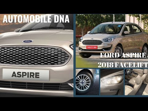 Ford Aspire 2018 Face Lift - India's Best Compact Sedan | Hindi | #automobiledna