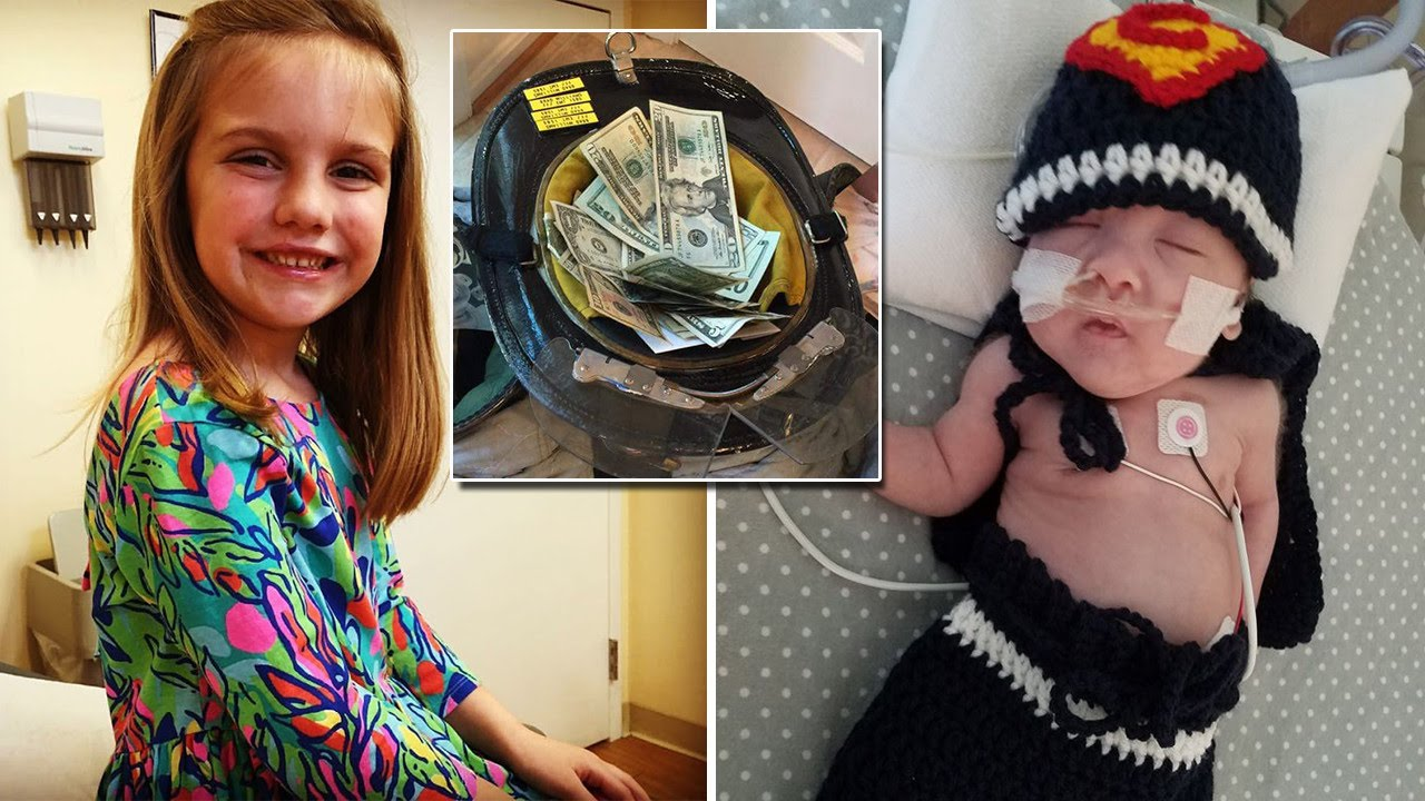 7 Year Old Girl Gives Up Birthday Presents To Help Preemie Baby