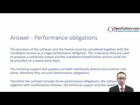 ACCA P2 IFRS 15 Revenue from Contracts with Customers (2)