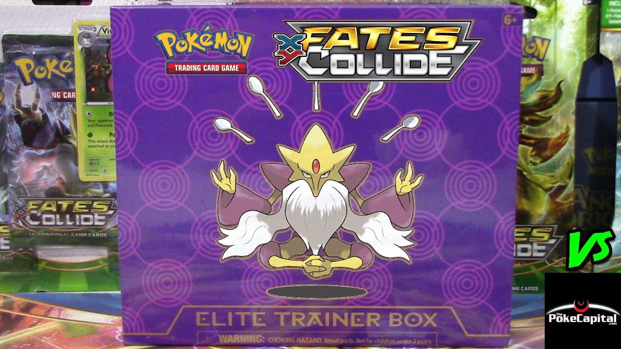 Pokemon Cards Early Fates Collide Mega Alakazam Elite Trainer Box