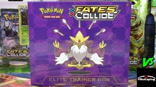 Pokemon Cards- EARLY FATES COLLIDE Mega Alakazam Elite Trainer Box Opening Battle vs ThePokeCapital!