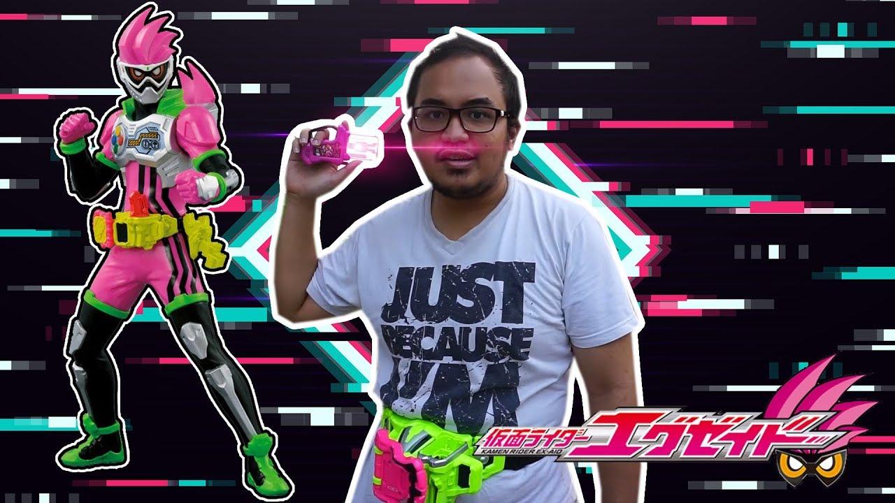 Bang Ridwan Berubah Jadi Kamen Rider Ex Aid Review Gamer Driver Youtube