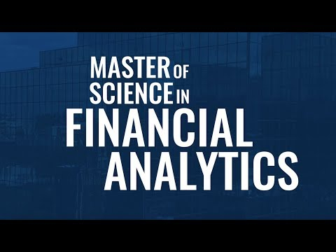 Financial Analytics at the University of Dallas