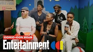 'Black Lightning' Stars Cress Williams, China Anne McClain & Cast | SDCC 2019 | Entertainment Weekly