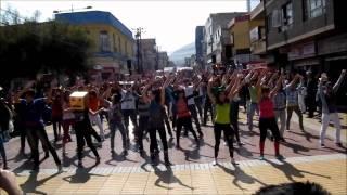 FLASHMOB PARTY ROCK  POR LA EDUCACION CHILENA , ANTOFAGASTA 31-08-2011