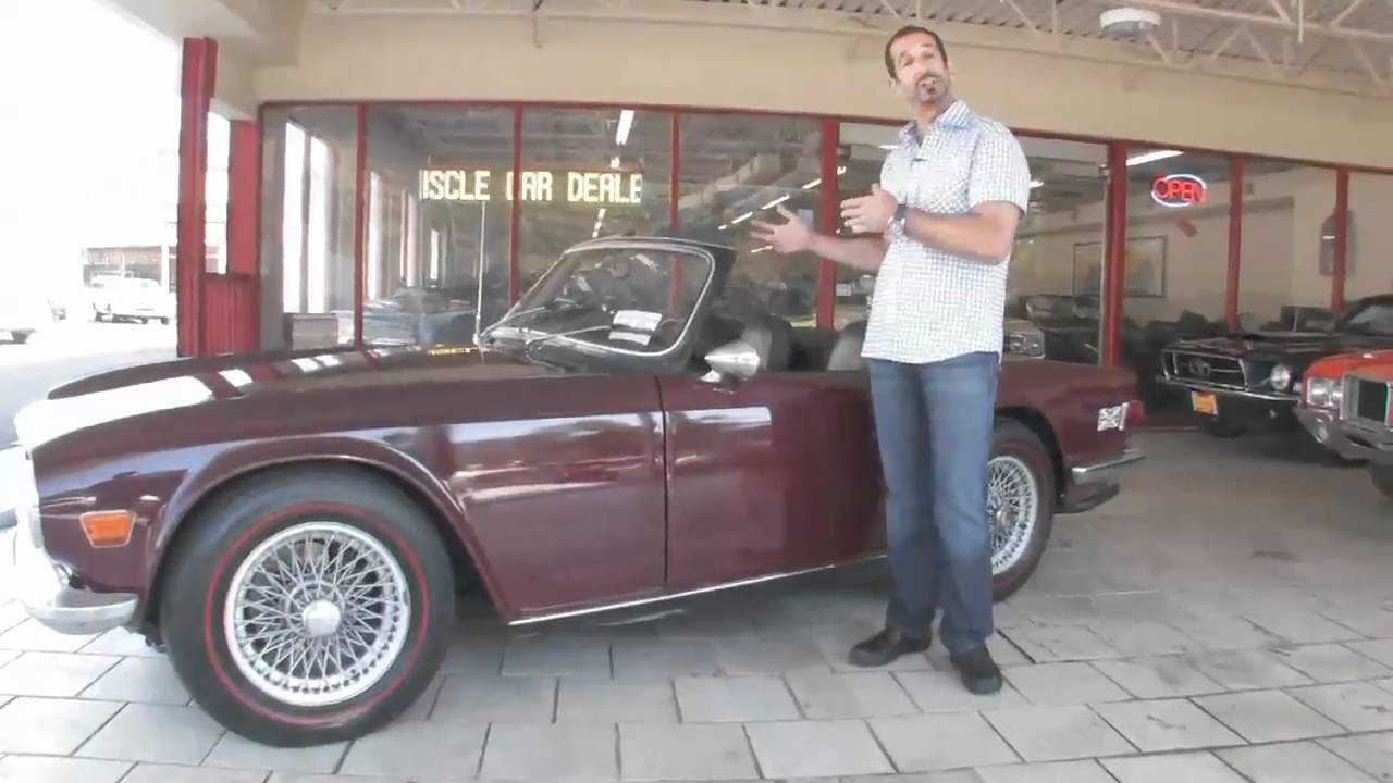 1970 Triumph for sale with test drive, driving sounds, and walk ...