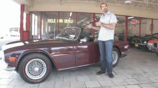 1970 Triumph TR6 FOR SALE Tony Flemings Ultimate Garage reviews horsepower ripoff complaints video