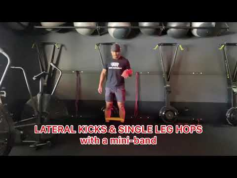 Lateral Kicks and