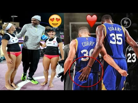 NEW Kevin Durant FUNNY MOMENTS 2017