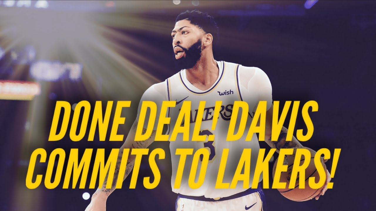 Anthony Davis' Signs With Lakers, Shocking Contract! - download from YouTube for free