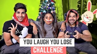You Laugh You Lose Challenge | Rimorav Vlogs