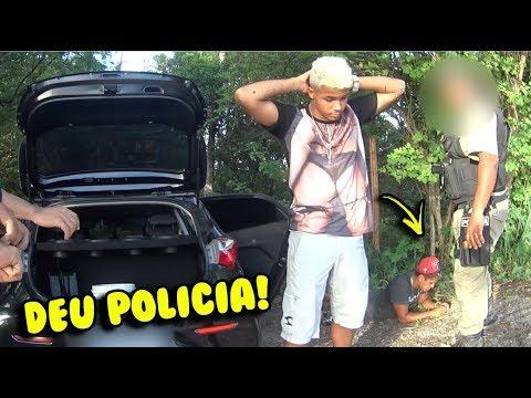 TROLLEI MEU AMIGO ROUBANDO O CARRO DELE (DEU POLÍCIA)