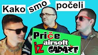 Price iz airsoft GARAZE ,Emisija 001 - Kako smo poceli , Srpska airsoft zajednica