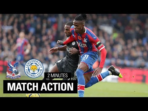 Crystal Palace 0-2  Leicester City | 2 Minute Highlights