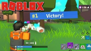 FORTNITE NO ROBLOX - Island Royale Beta ( GRÁTIS ! )