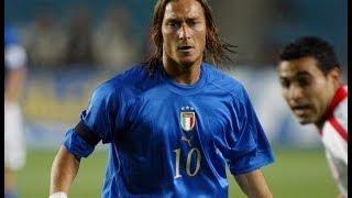 Gol e giocate di Francesco Totti in Nazionale