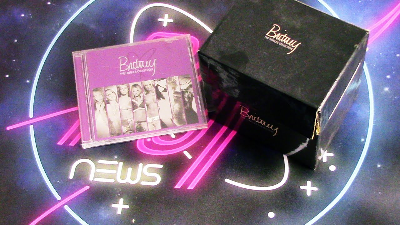 unboxing britney spears the singles collection youtube