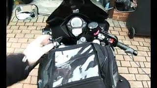 Oxford Magnetic tank bag review
