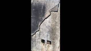 CRACK in Retaining Wall