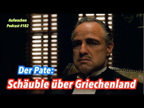 Der Pate: Wolfgang Schäuble über Griechenland