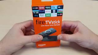 Amazon FireTV stick Unboxing (4K)