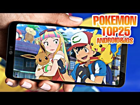 Top 25 Best Pokemon Games For Android | Amazing Graphics | Story Life | [2019]