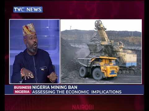 NiGERIA MINING BAN