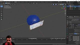 How to put a video on to a mesh inside of Blender 2.83