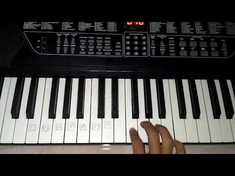 Instrumen keyboard lagu mars banser