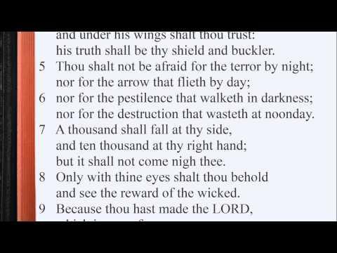 Psalm 91:1-16 ♩♫ KJV Scripture Song [Alternate version], Full Chapter