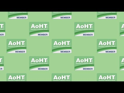 Association of Healthcare Trainers | AoHT | FREE Membership