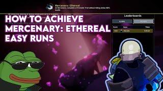 Risk of Rain 2: How to Achieve EASY Mercenary: Ethereal Challenge Runs