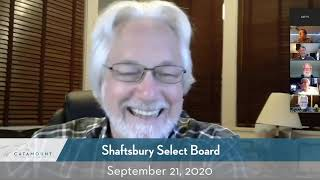 Shaftsbury Select Board // 9-21-20