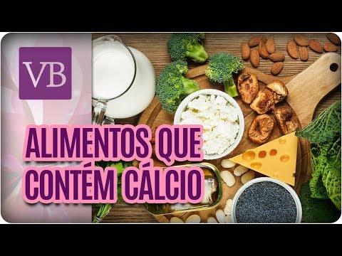 Alimentos que Contém Cálcio - Você Bonita (17/08/17)