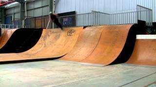 Ryan Williams flip drop in