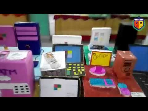 Elite Science Exhibition Computer Models 2018 in Elite Public High School, Sargodha