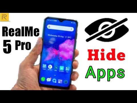 How to Hide Apps on RealMe 5 Pro (No Root)   How to Lock Apps on RealMe 5 Pro