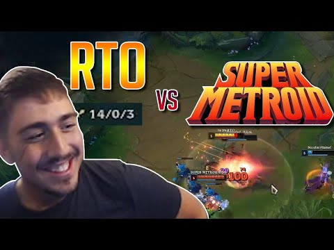 RTO's PERFECT GAME against SUPER METROID | RTO's Renekton Jungle