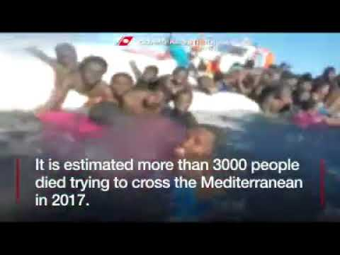 Migrants drown in year's 'first shipwreck'