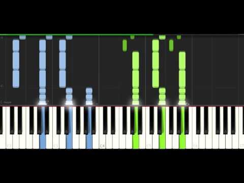 Tobu - Colors - PIANO TUTORIAL