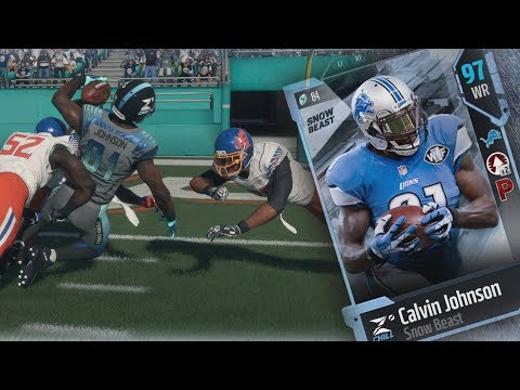MUT 18 - FS & WR Calvin Johnson! Volleyball Tap Cheese! Madden 18 Ultimate Team Gameplay